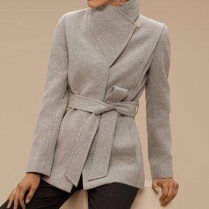 Aritzia Babaton Spencer Wool Coat